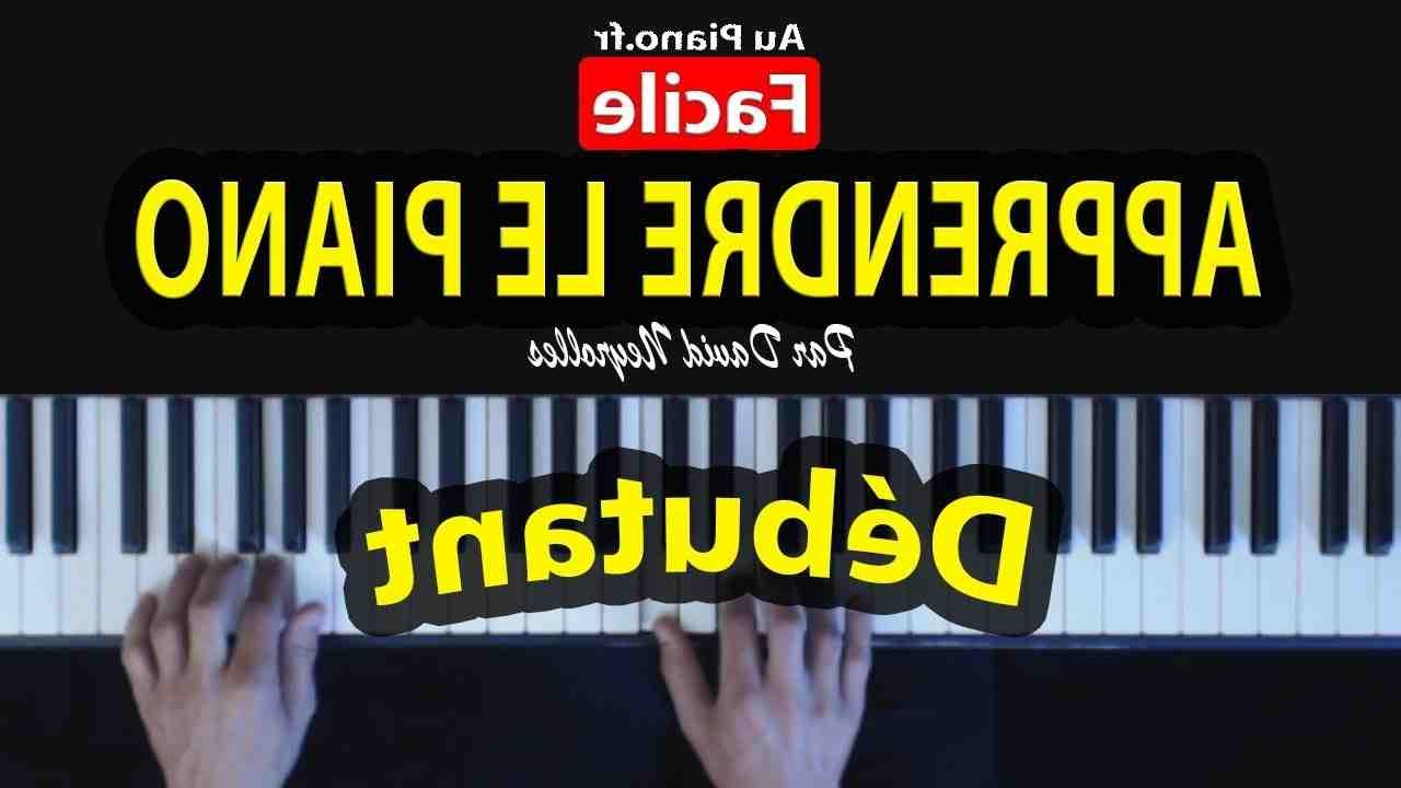Comment apprendre le piano seul et gratuitement ?